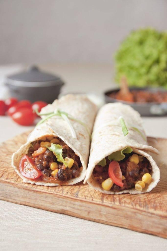 Vegan Burrito - iStock_000036236064_Medium