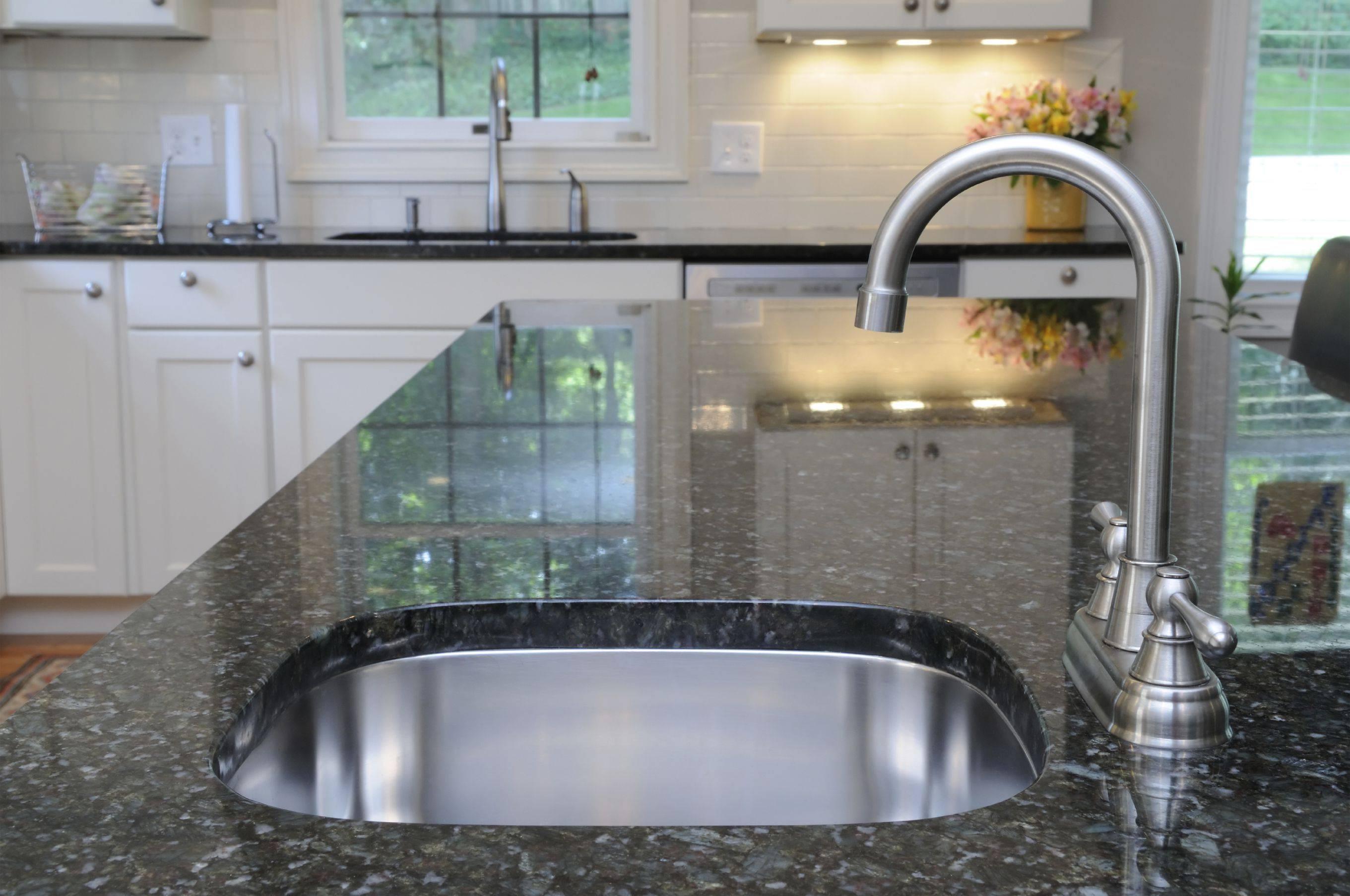 Kitchen Sink with Granite