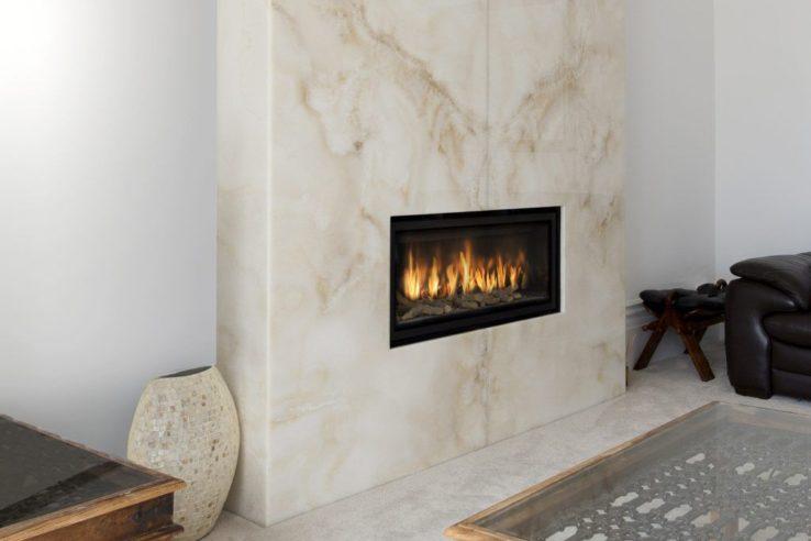 granite house fireplace