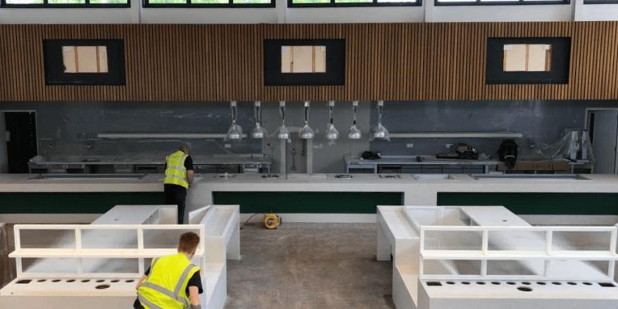 Wimbledon Pergola Bar