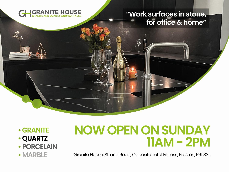 Granite House now open Sunday